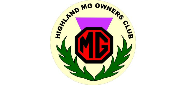 Highland MG Owners' Club logo